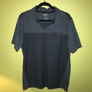 Men's Oakley Pocket Polo Shirt, Size Large